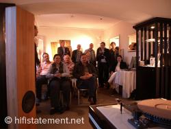 Hilton Vienna Plaza, Raum 1011: SLS, Orpheus Digitalelektronik, boenicke audio Endstufe, Garrard Plattenspieler von Martina Schoener