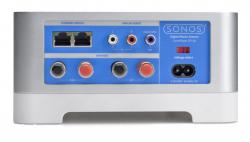 Anschluss gesucht: Der Zoneplayer ZP120 bietet umfangreiche Anschlussmöglichkeiten