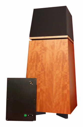 Hier das Topmodell 5000 mit dem Verstärkereinschub