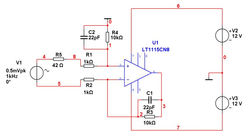 Bild 13: DL103 mit elektronischer Symmetrierung