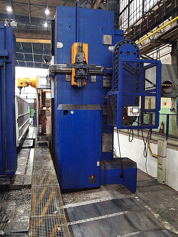 Das Fundament einer CNC-Maschine: Die Unterkonstruktion schützt die Maschine vor Vibrationen