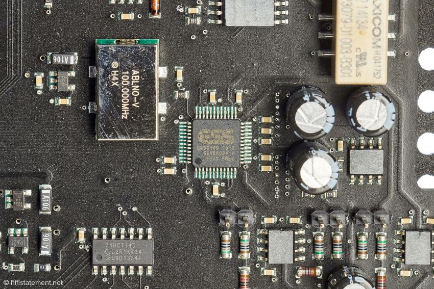 Was passiert eigentlich mit DSD-Daten im Inneren der Wandler-Chips? Hier der bestens beleumundete Sabre ESS 9016