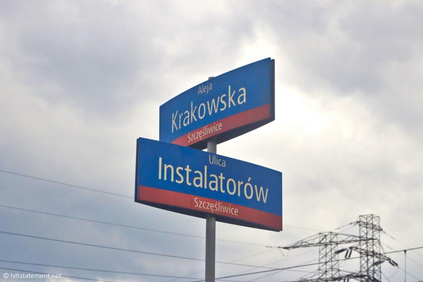 Myteks Firmengebäude liegt an der Ulica Instalatorów