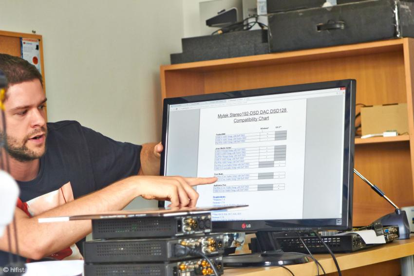Adam Bielewicz ist weltweit für den Kundensupport zuständig. Die meisten Probleme lassen sich per E-mail lösen