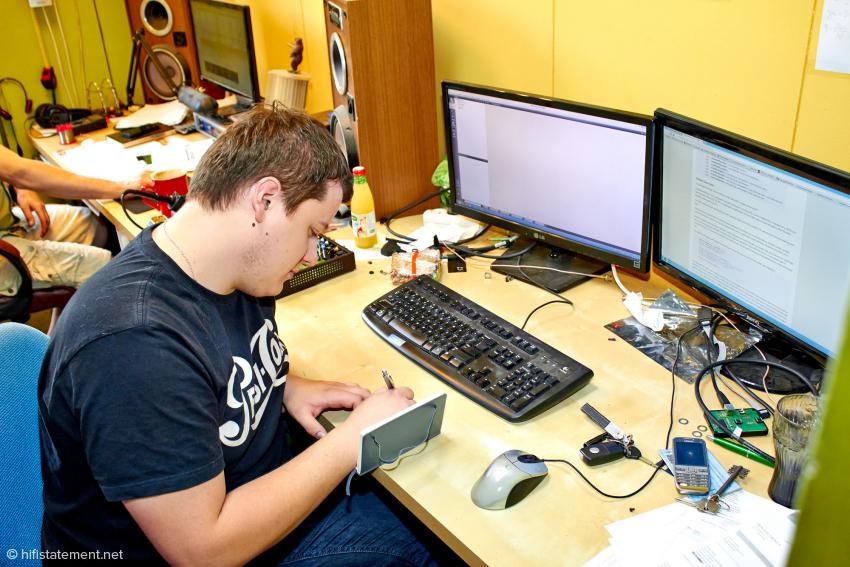 Pawel Gorgon ist Hard- und Software-Ingenieur