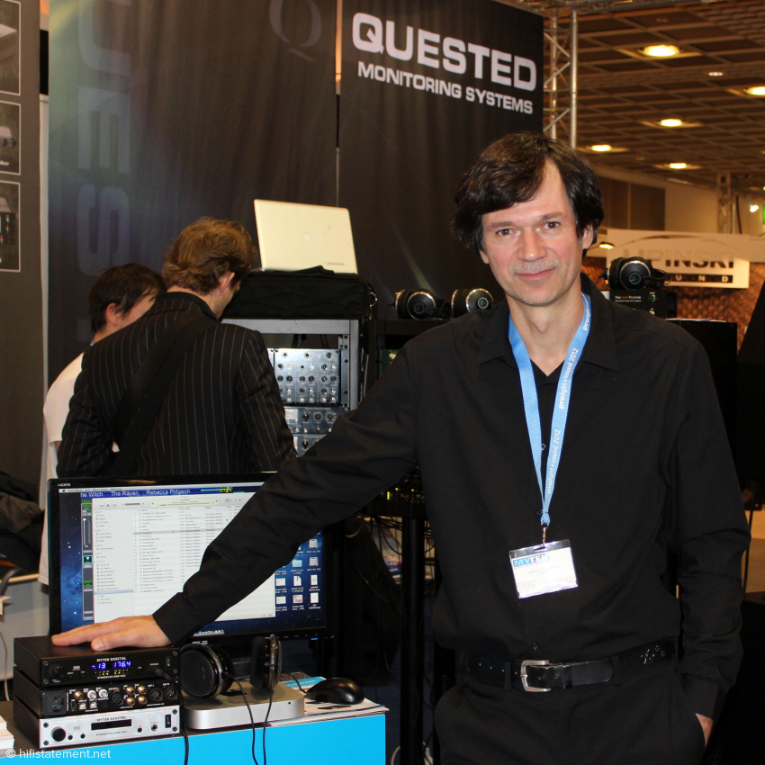 Michal Jurewicz gründete Mytek und vertritt die Firma meist auch international wie hier auf der Prolight + Sound. Da er in den USA lebt und arbeitet und wir ihn daher beim Besuch in Warschau nicht antrafen, lautet die Überschrift: Mytek minus one