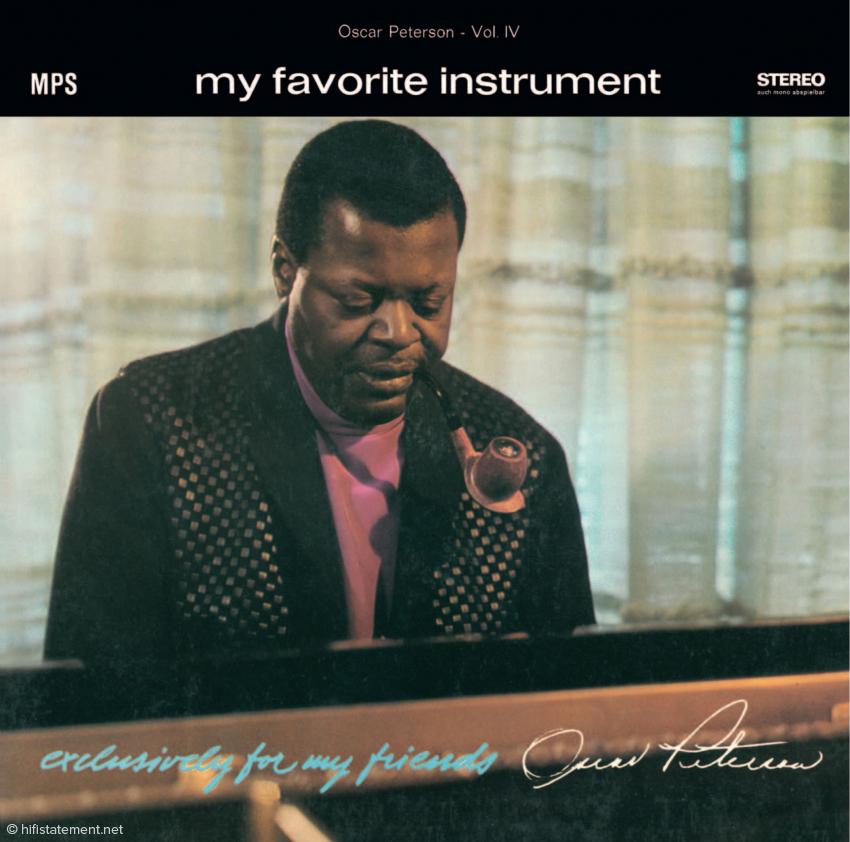 Die Soloeinspielung My favorite instrument blieb Petersons eigener Favorit dieser Serie. Die Empfehlung, eine Soloplatte einzuspielen, hatte er von seinem Freund, Duke Ellington
