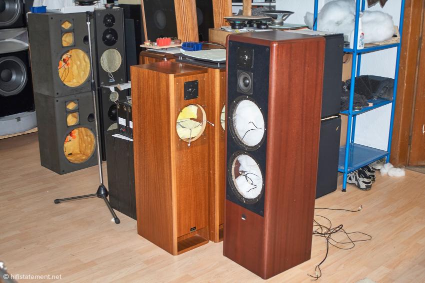 Diese Lautsprecher werden zu neuer Klangqualität aufgearbeitet