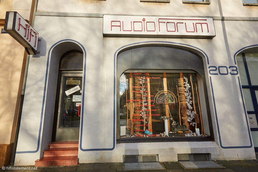 The Audio Forum in the Koloniestraße 203 has been one of the first hi-fi addresses in Germany for nearly 40 years now. Even the author has again and again returned to Duisburg