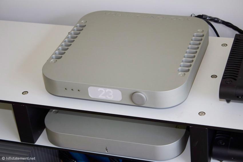 Wandler und Netzteil sind auch beim Reference DAC in eigenen Gehäuse untergebracht