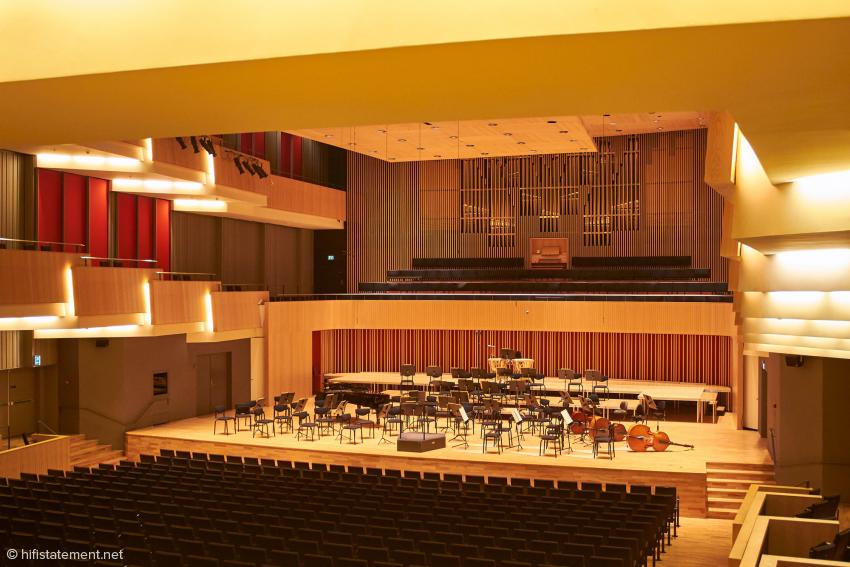 Der Symphonische Saal des Musikhuset in Aarhus