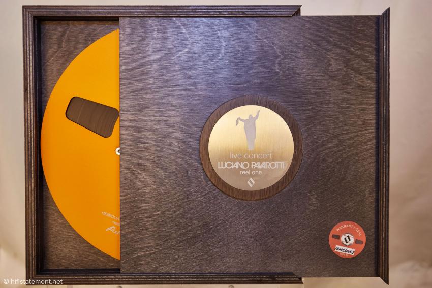 Reel One – Luciano Pavarotti Live In Concert ist eine bisher unveröffentlichte Aufnahme, exklusiv als Masterband-Kopie erhältlich