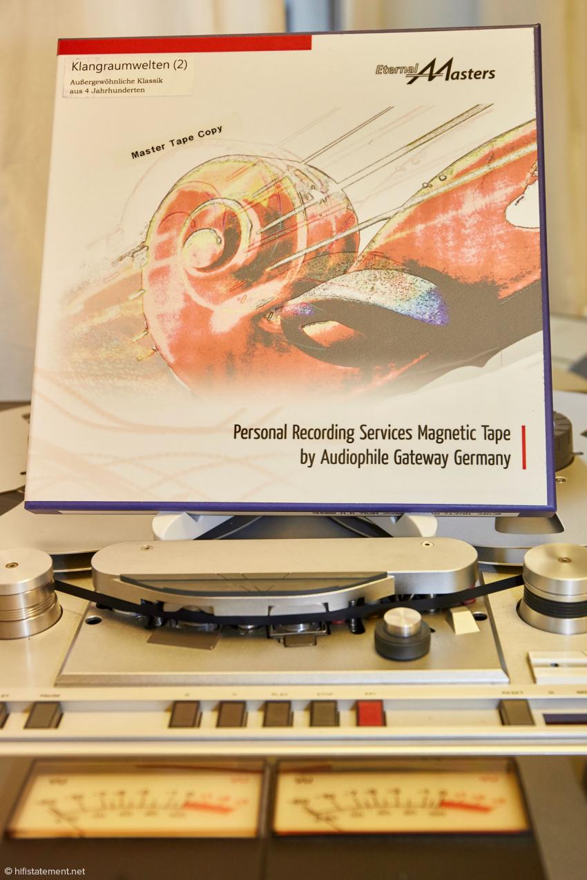 Die von EternalMasters selber produzierten Masterband-Kopien bieten musikalisch hoch spannendes Material