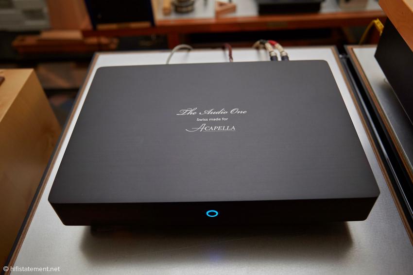 Acapellas neuer, preislich moderater Musik-Server