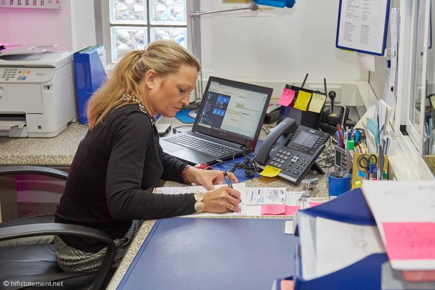 Alexandra Mittelbach leitet den Betrieb