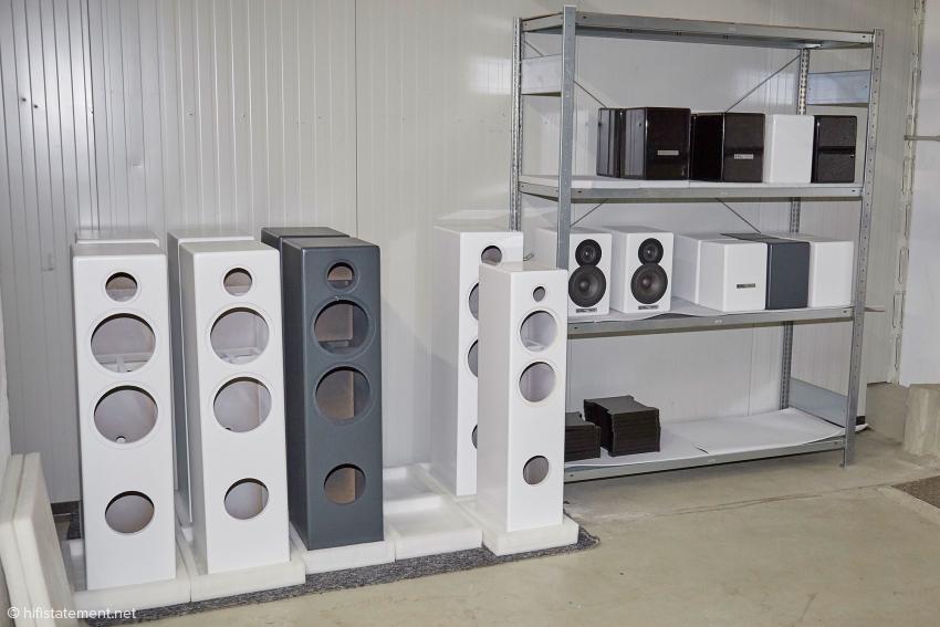 Die Lautsprecher- und Elektronikgehäuse bezieht Audio Optimum von Zulieferern