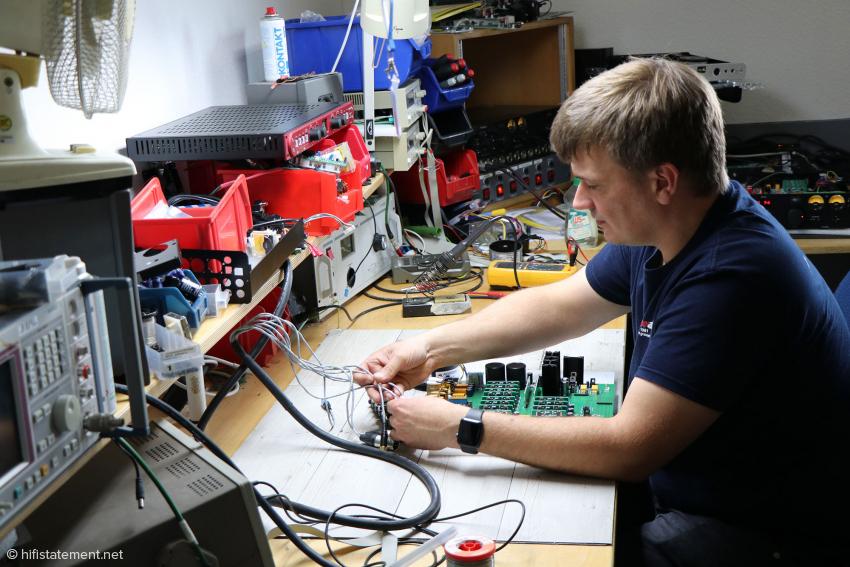 Bastian Neu entwickelt die Professional-Fidelity-Serie