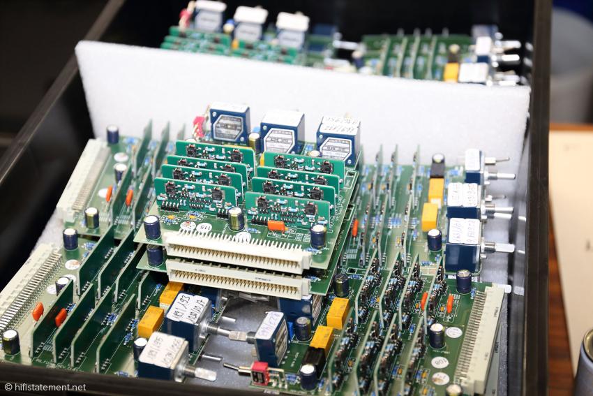 Der Aufbau der Geräte in Modulen erhöht die Flexibilität bei der Fertigung und vereinfacht den Service