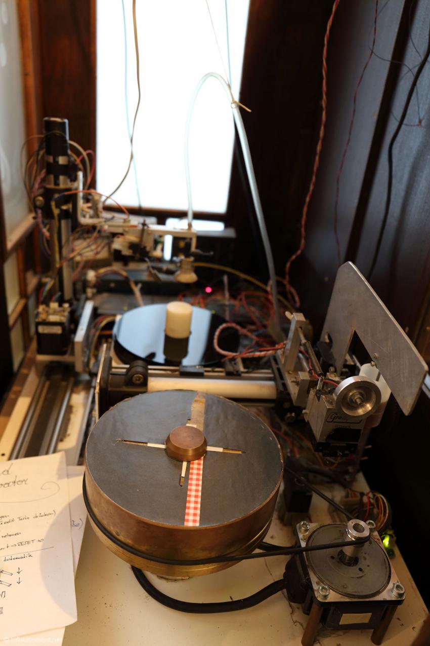 Ein unverstellter Blick auf die Technik des Recordelevators