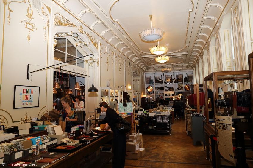 Ein Laden mit Stil und analogen Schätzen