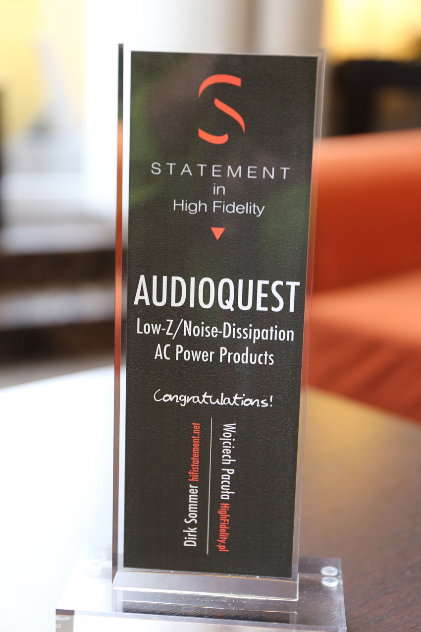 The award for Audioquest's