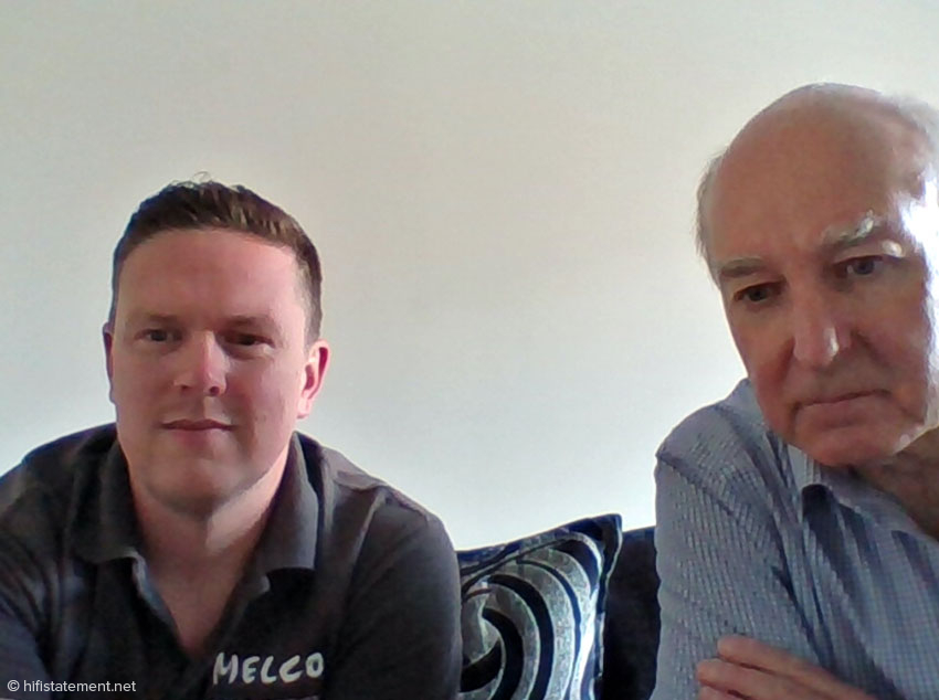 Alan Ainslie (right) and Daniel Raggett