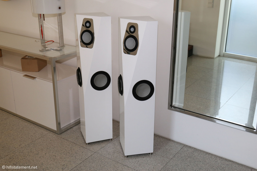 Because they are so pretty looking: once again the Cadenza, shown here in white lacquer