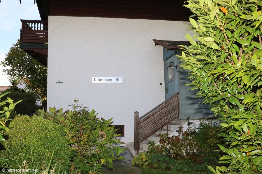 A pastoral hi-fi resort in Rosenheim