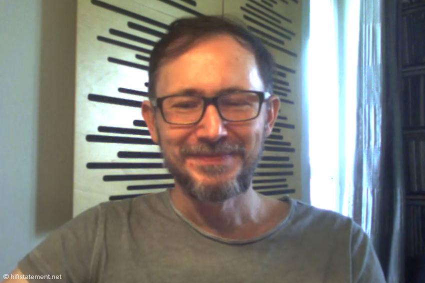 Der Kollege Wojtek Pacula freut sich über jeden edlen CD-Player