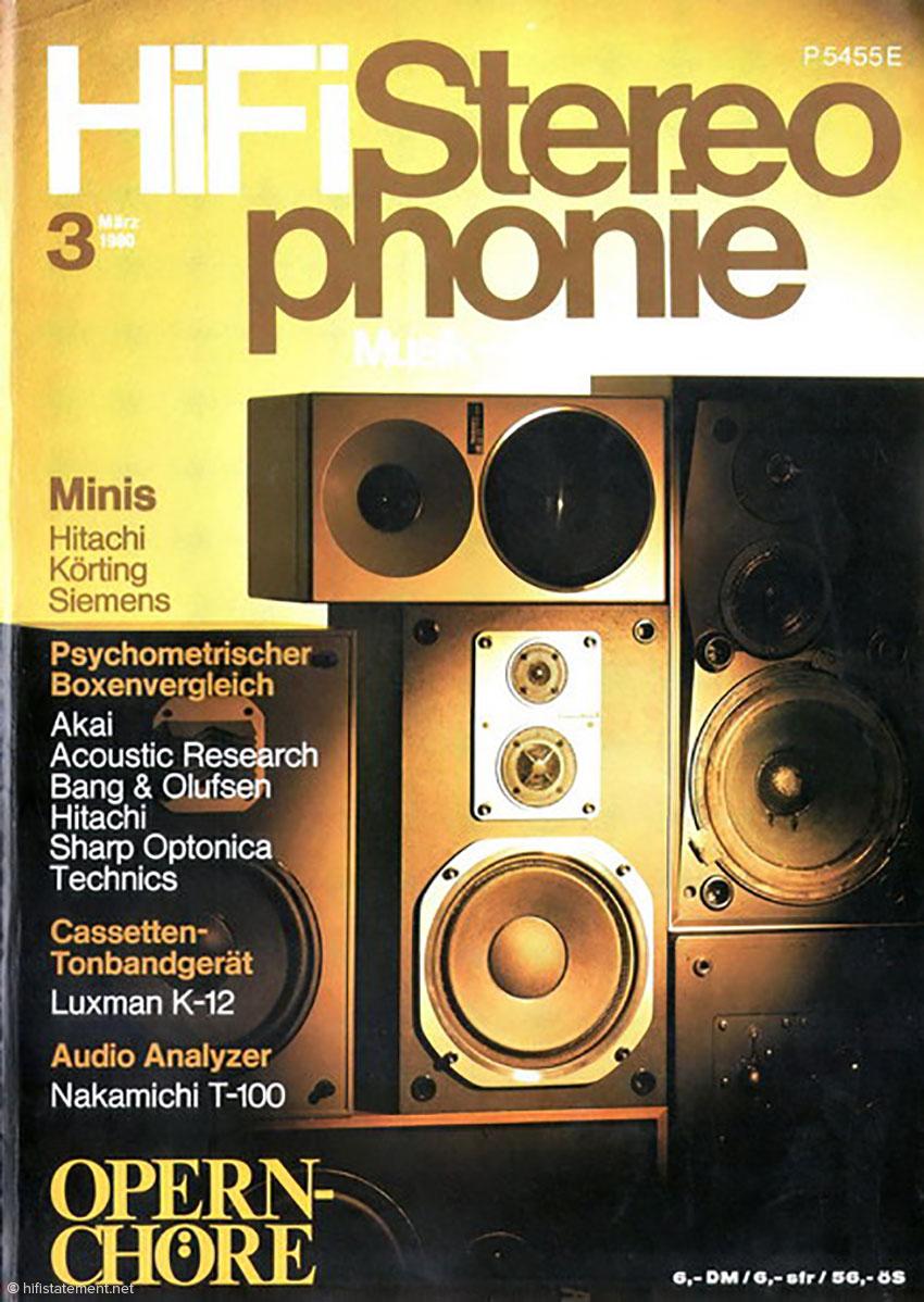 Hifi Stereophonie war wohl das seriöseste unter den deutschen Magazinen