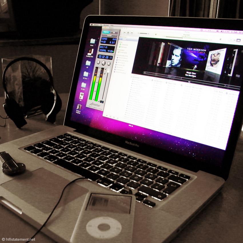 Computer und HiFi Teil 3 – Musikdaten wandern ins Computernetzwerk
