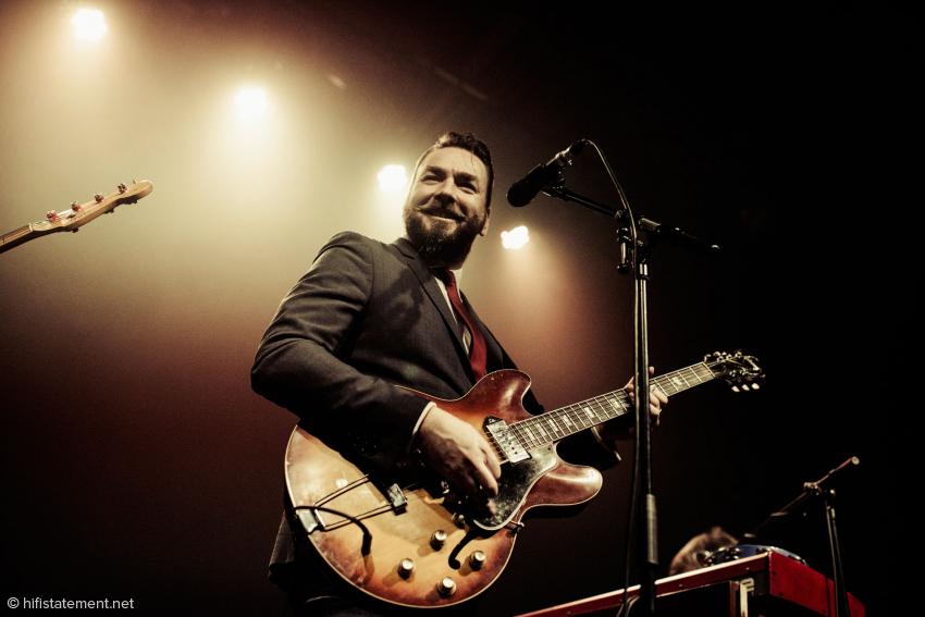 Der Gitarrist und Mastermind der Band: Eddie Roberts