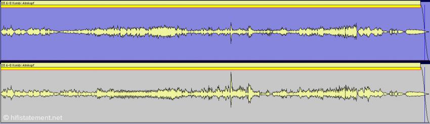 Wundern Sie sich nicht, dass der Song über weite Teile leiser daher kommt als gewohnt. Um auch den mächtigen Impuls beim Trompetensolo unverzerrt auf die Platte zu bekommen, mussten wir den Rest sehr vorsichtig angehen