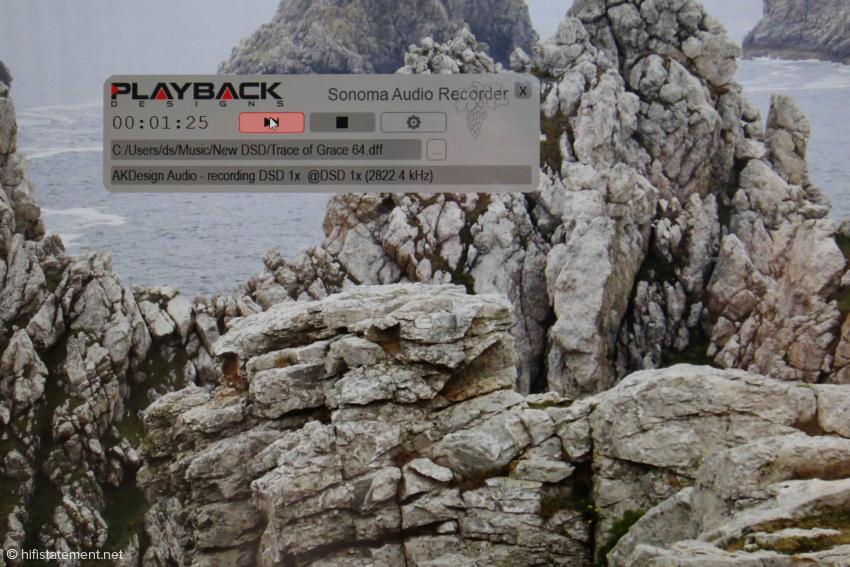 Der Sonoma Audio Recorder bietet erfreulicherweise keinen Schnickschnack. Er läuft aber nur auf Windows. Wie sein Entwickler Bert Gerlach anmerkte, sind auch Windows-Installationen auf Mac wie etwa Bootcamp keine Alternative zum Windows-Rechner