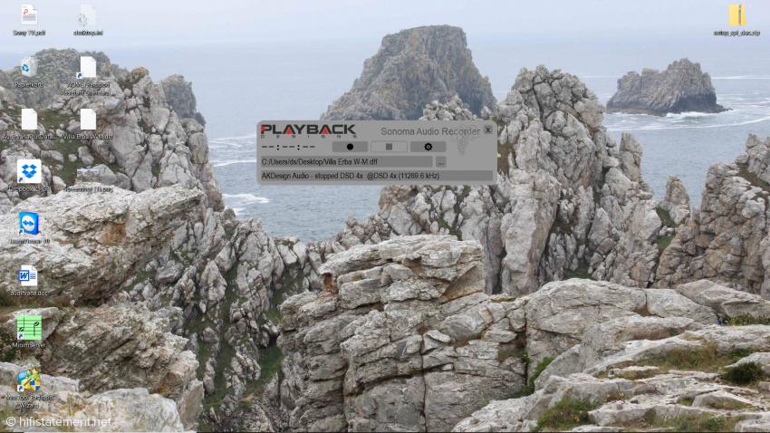 Die Sonoma-Software unter Windows 10