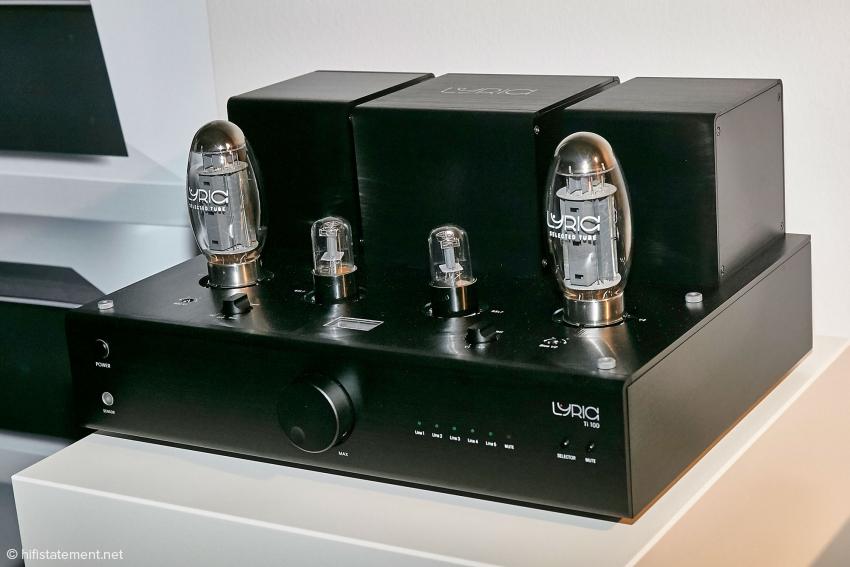 Bei Lyric Audio konnte man die eigenen Modelle nicht hören, nur betrachten. Hier das SE Modell T100