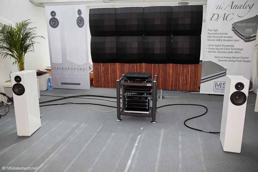 Die Anlage von MSB mit Stereokonzept Modell 3
