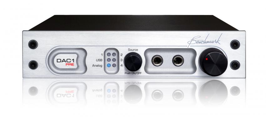 Der DAC1 PRE ist Wandler, Vorverstärker und Kopfhörerverstärker in einem