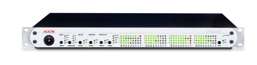Eher ein Fall für Profis: der 16-kanalige Analog-Digital-Wandler ADC-16 mit optionaler Firewire-Schnittstelle