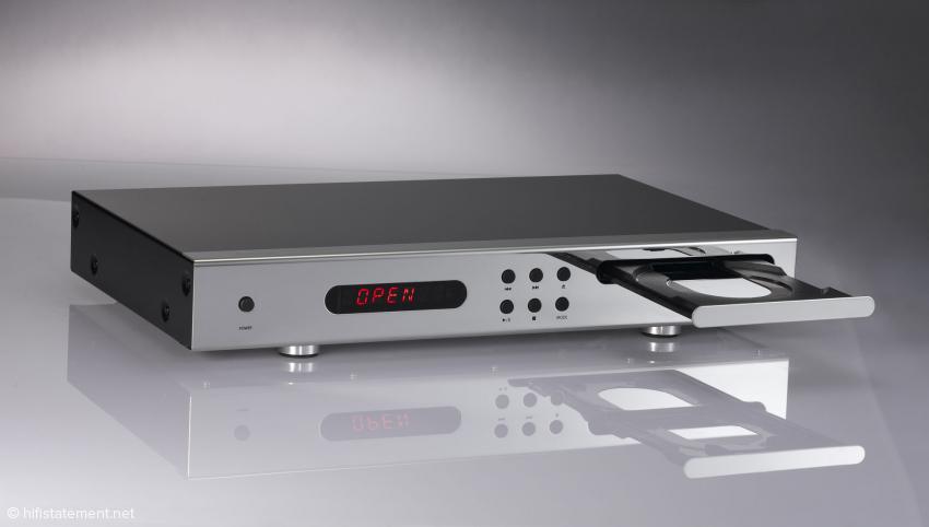 Der Aura Vivid verfügt über ein spezielles CD-Laufwerk von Sanyo, dass sich unter anderem durch geringe Laufgeräusche auszeichnen soll