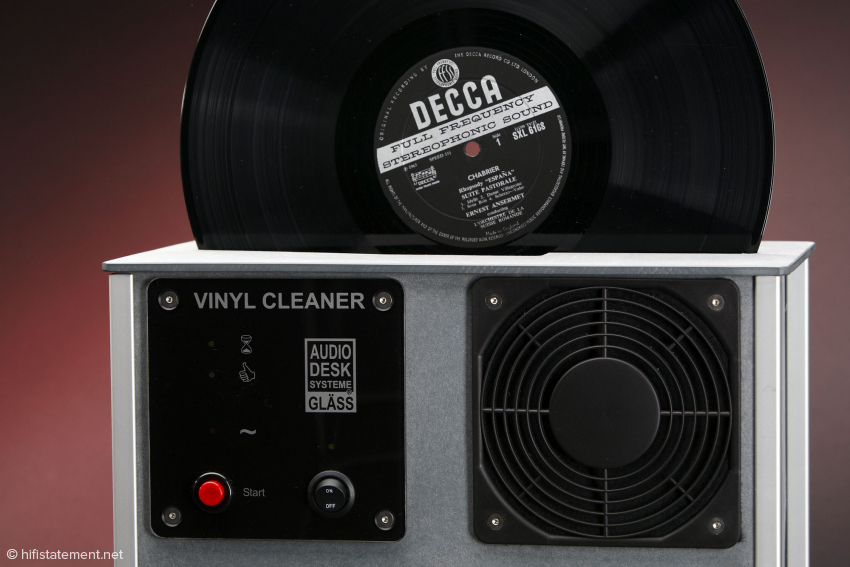 Audio Desk Systeme Gläss: Vinyl Cleaner