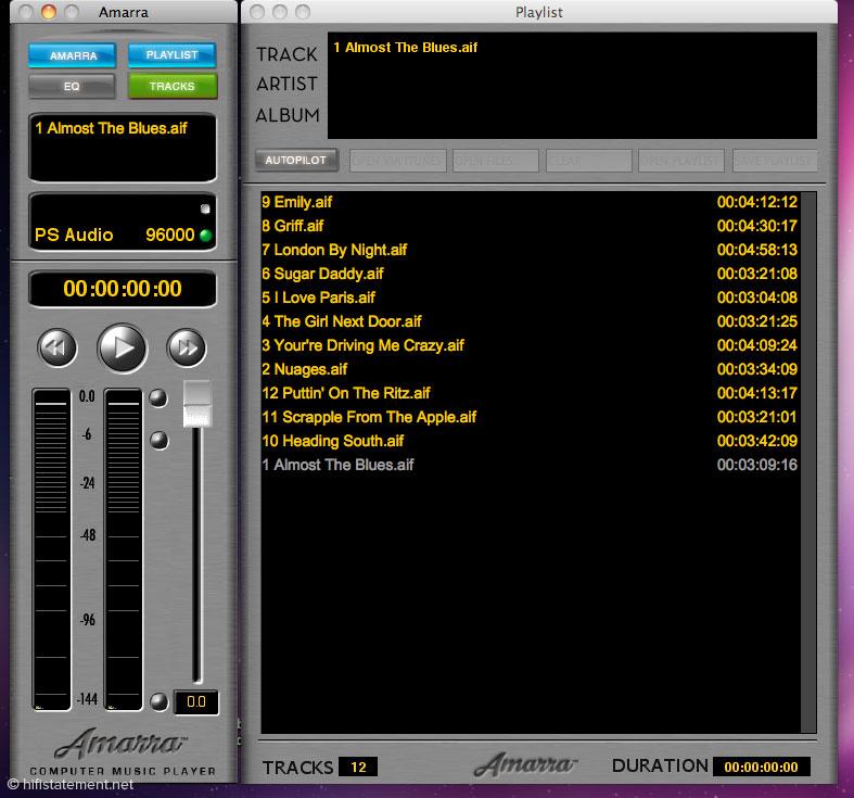 Die Playlist zeigt zwar keine Cover, ist aber gegenüber der bisherigen Darstellung ein großer Fortschritt – nicht zuletzt wegen der Möglichkeit, die Listen zu speichern