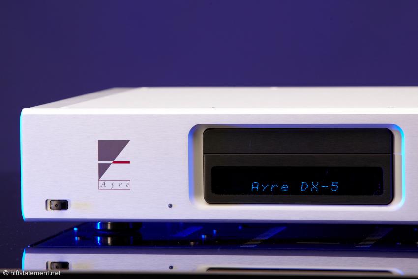 Der Ayre DX-5 von seiner schönsten Seite