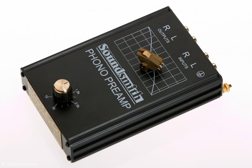 Der Soundsmith Entzerrer MCP2 bietet eine stufenlos regelbare Eingangsimpedanz. Er ist aber nicht Bestandteil dieses Tests.