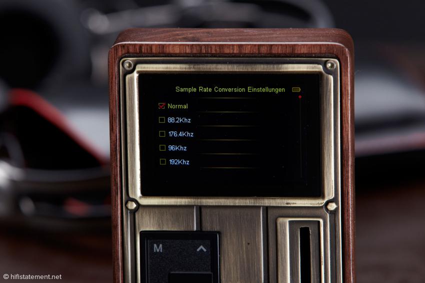 Der Pocket Player kann auch als externer Wandler oder lediglich als Sample Rate Converter genutzt werden
