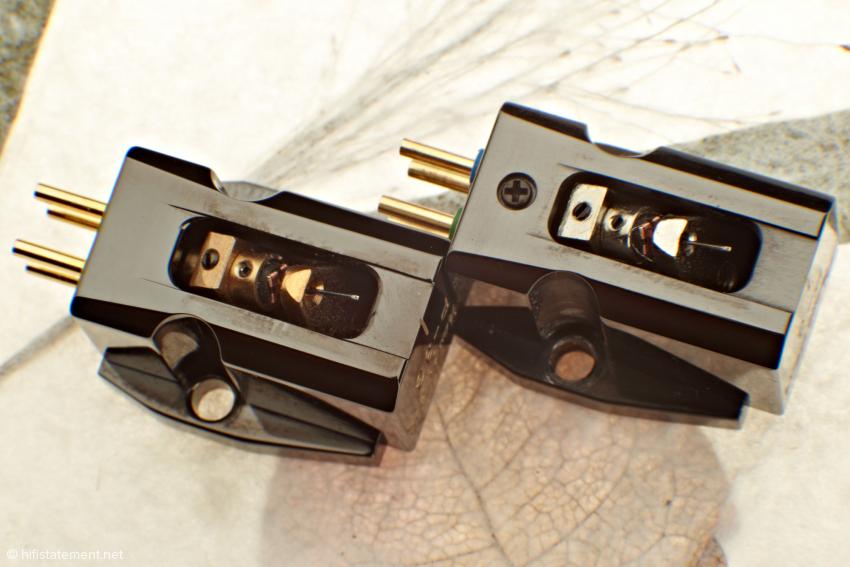 Optisch kaum zu unterscheiden, präsentieren sich P-3 und P3-G als klanglich ungleiche Brüder – was auf die Unterschiede in den Magnetwerkstoffen und dem Spulenmaterial zurückzuführen ist
