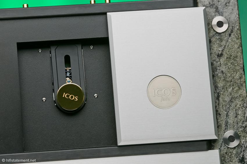 Der ICOS Fado Elsberg CD Player ist ein Toplader, dessen Bedienung Spaß macht