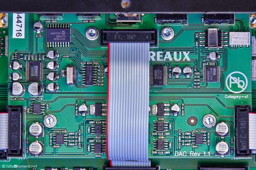 Die DAC-Platine ist eine Option zum Preis von 1.000 Euro