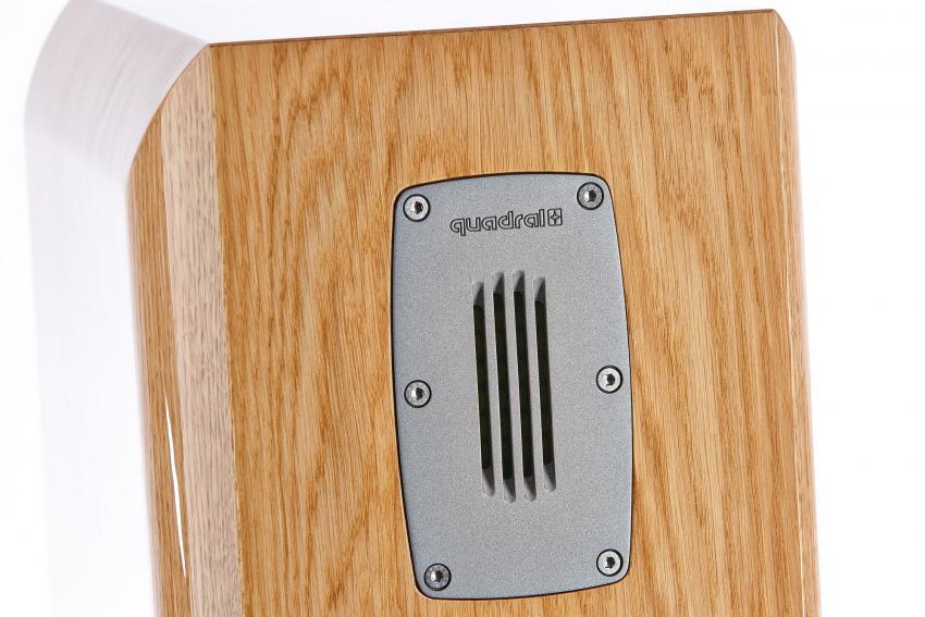 Das Quadral-eigene Bändchen im Hochtonbereich ist verantwortlich für realistische Klangfarben und Auflösung
