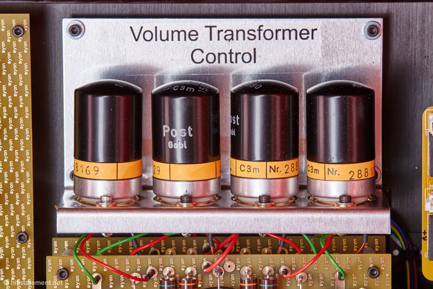 "The C3m tubes were only available with metal case, if you would remove this, a normal glass tube would come to light. However, they have nothing to do with ""Volume Transformer Control"""